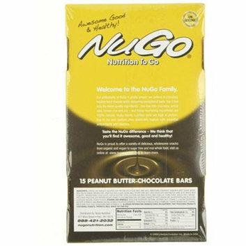 Nugo Nutrition Bar Peanut Butter Chocolate Case of 15 1.76 oz