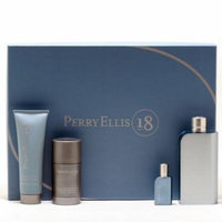 Perry Ellis 18 3.4 Sp/3.4 Deo/3.4 After Shave Balm/Mini Size: Set