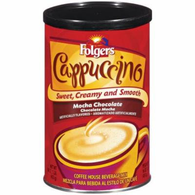 Folgers Cappuccino Mocha Chocolate, 16 OZ (Pack of 6)