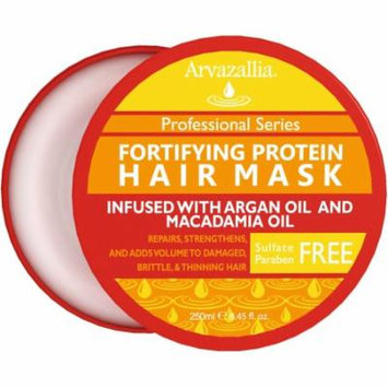 Arvazallia Fortifying Protein Hair Mask and Deep Conditioner for Dry or Damaged Hair