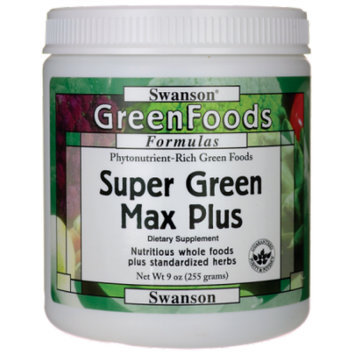Swanson Super Green Max Plus 9 oz (255 grams) Pwdr