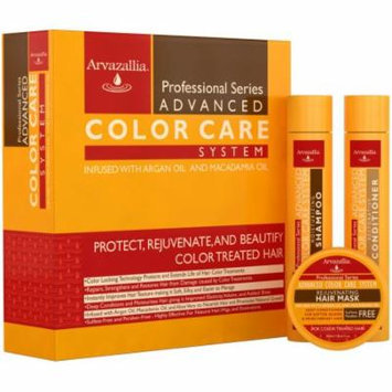 Advanced Color Care Shampoo and Conditioner Set with Argan Oil and Macadamia Oil for Color Treated Hair
