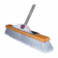 The Super Sweeper Push Broom Smooth Surface Aluminum 24