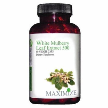 Maximum International White Mulberry Leaf Extract 500 - 60 Veg Capsules
