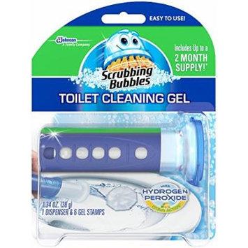 Scrubbing Bubbles Toilet Cleaning Gel Fresh, Hydrogen Peroxide Citrus, 1.34 Ounce