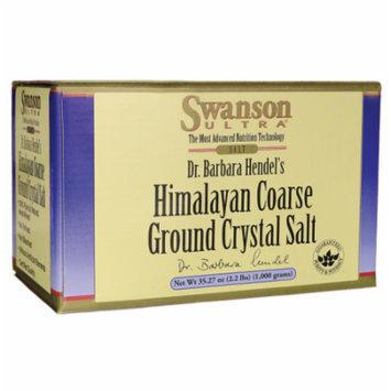 Swanson Himalayan Coarse Ground Crystal Salt 35.27 oz (1,000 grams) Salt