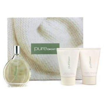 DKNY Pure Verbena Warmth A Drop Coffret: Eau De Parfum Spray 100ml/3.4oz + Body Butter 100ml/3.4oz + Body Wash 100ml/3.4