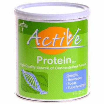 Medline Active Powder Protein Nutritional Supplement 8oz 6/Case