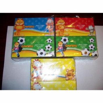 Garfield Facial Tissue - Kids 2 Pack (pack Of 60)