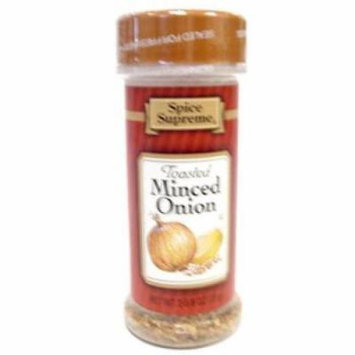 Spice Supreme - Toasted Minced Onion (pack Of 48)