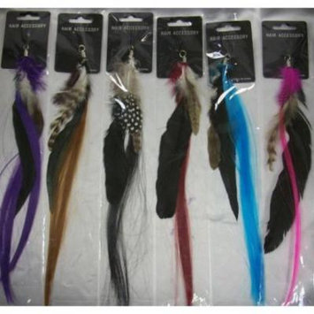 Ddi Feather Hair Extensions (pack Of 144)