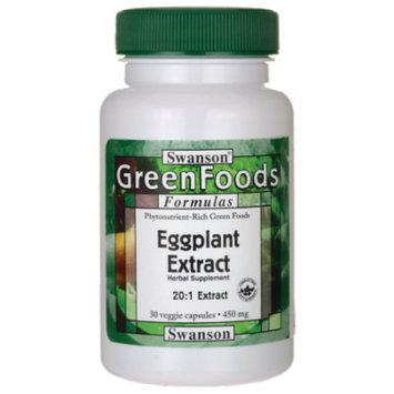 Swanson Eggplant Extract 20:1 450 mg 30 Veg Caps