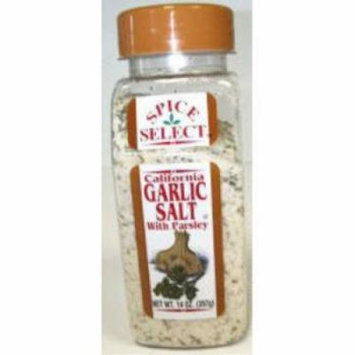 Spice Select - Garlic Salt With Parsley (pack Of 24)