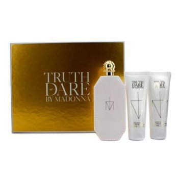 Madonna Truth Or Dare Coffret: Eau De Parfum Spray 75ml/2.5oz + Body Lotion 75ml/2.5oz + Shower Gel 75ml/2.5oz For Women