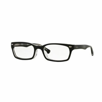 Ray-BanOptical 0RX5150F Rectangle Sunglasses for Womens - Size - 52 (Demo Lens)