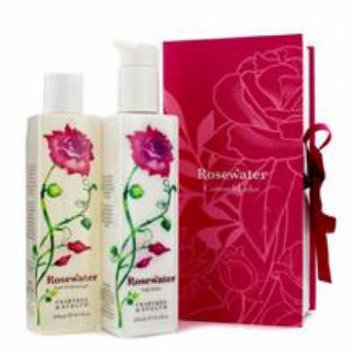 Crabtree & Evelyn Rosewater Perfect Pair: Bath & Shower Gel 250ml + Body Lotion 245ml
