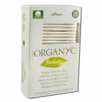 ORGANYC - Cotton Toiletries, Swabs 200 ct