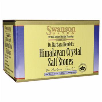 Swanson Himalayan Crystal Salt Stones 35.27 oz (1,000 grams) Pkg