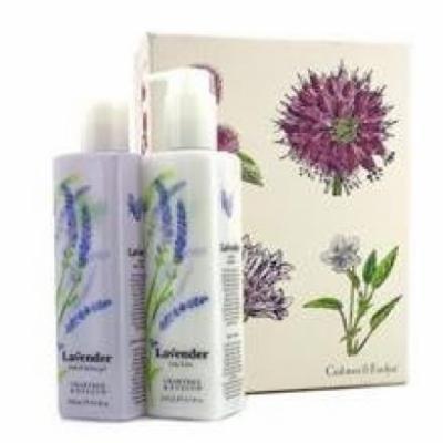 Crabtree & Evelyn Lavender Perfect Pair: Bath & Shower Gel 250ml + Body Lotion 245ml
