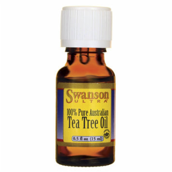 Swanson Tea Tree Oil 0.5 fl oz (15 ml) Liquid