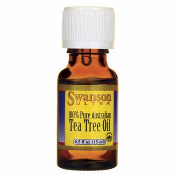 Swanson Tea Tree Oil 0.5 fl oz (15 ml) Liquid