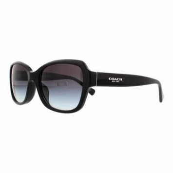 COACH Sunglasses HC 8160F 500211 Black 56MM
