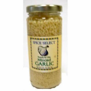 Spice Select - Minced Garlic In Jar (pack Of 24)