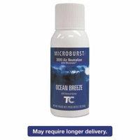 Rubbermaid Commercial Microburst 3000 Refill, Ocean Breeze, 2oz, Aerosol, 12/Carton