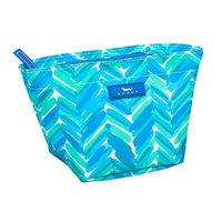 SCOUT Crown Jewels Cosmetic Bag, Teal Magnolias, 4-1/2 by 8-1/4 by 4-1/2 Inches