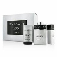 Bvlgari Man Extreme Coffret: Eau De Toilette Spray 100ml/3.4oz & 15ml/0.5oz + After Shave Balm 75ml/2.5oz For Men