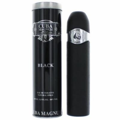 Cuba Magnum Black By Cuba, 4.2 oz EDT Spray for Men