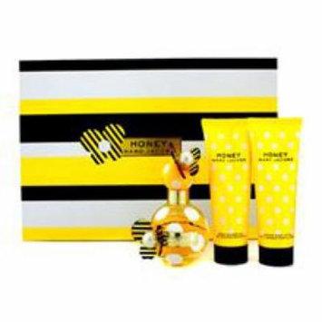 Marc Jacobs Honey Coffret: Eau De Parfum Spray + Body Lotion  + Shower Gel for Women