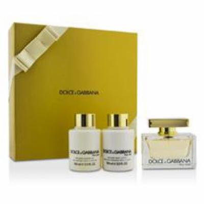 Dolce & Gabbana The One Coffret: Eau De Parfum Spray 75ml/2.5oz + Body Lotion 100ml/3.3oz + Shower Gel 100ml/3.3oz For W