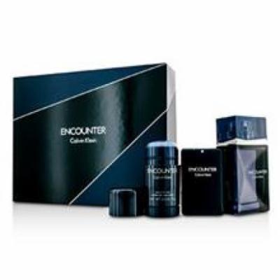 Calvin Klein Encounter Coffret: Eau De Toilette Spray 100ml/3.4oz + Eau De Toilette Spray 20ml/0.67oz + Deodorant Stick