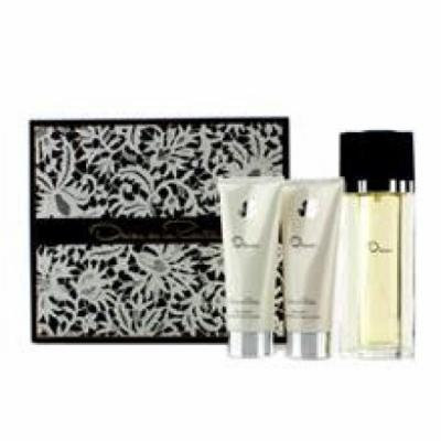 OSCAR DE LA RENTA Oscar Coffret: Eau De Toilette Spray 100ml/3.4oz + Body Lotion 100ml/3.4oz + Body Bath Gel 100ml/3.4oz