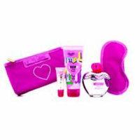 MOSCHINO Pink Bouquet Coffret: Eau De Toilette Spray 100ml/3.4oz + Body Lotion 100ml/3.4oz + Lipgloss 10ml/0.3oz + Sleep