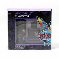 COTY Playboy New York Men- 1.7 Oz Sp/4 Oz Bdy Sp