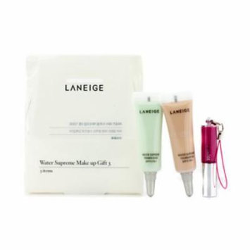 LANEIGE Water Supreme Make Up Gift 3:  Mini Lip Gloss, Mini Foundation Spf 15, Primer Base Spf 15