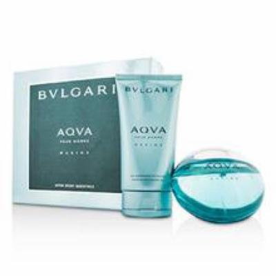 Bvlgari Aqva Pour Homme Marine Coffret: Eau De Toilette Spray 100ml/3.4oz + Shower Gel 150ml/5oz For Men