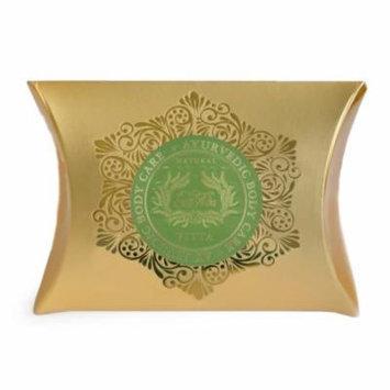 Set of 6 SpaVeda Many Blessings Emerald Pitta Body Bar Soap 4.4 oz.