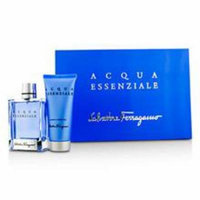 SALVATORE FERRAGAMO Acqua Essenziale Coffret: Eau De Toilette Spray 100ml/3.4oz + Shampoo & Shower Gel 100ml/3.4oz For M