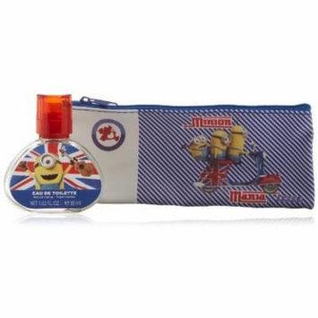 AIR VAL INTERNATIONAL Minions Coffret: Eau De Toilette Spray 30ml/1oz + Case For Women