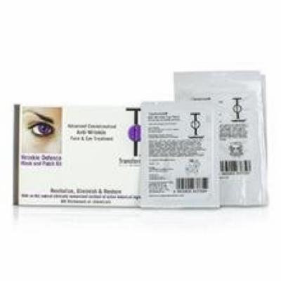 Transformulas Wrinkle Defence Mask And Patch Kit: 1x Facial Mask, 1x Eye Patches