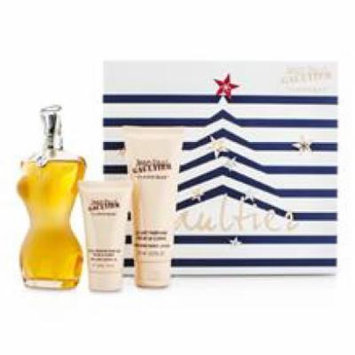 JEAN PAUL GAULTIER Le Classique Coffret: Eau De Toilette Spray 100ml/3.3oz + Body Lotion 75ml/2.5oz + Shower Gel 30ml/1o
