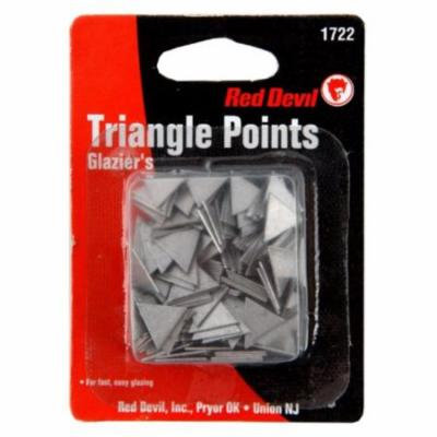 Glazing Triangle Points Red Devil Paint Sundries 1722 075339017227
