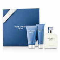 Dolce & Gabbana Homme Light Blue Coffret: Edt Spray 125ml/4.2oz + After Shave Balm 75ml/2.5oz + Shower Gel 50ml/1.6o For