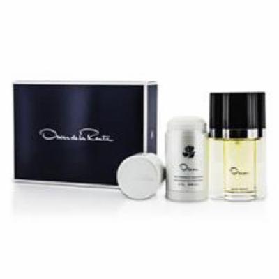 OSCAR DE LA RENTA Oscar Coffret: Eau De Toilette Spray 50ml/1.7oz + Deodorant Stick 75g/2.5oz For Women