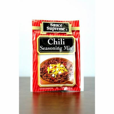 Pack of 24 Sauce Supreme Chili Seasoning Mix 1 oz. #30002