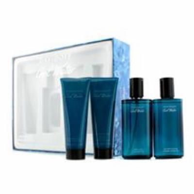 DAVIDOFF Cool Water Coffret: Eau De Toilette Spray 75ml/2.5oz + After Shave 75ml/2.5oz + After Shave Balm 75ml/2.5oz + S