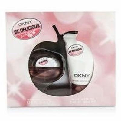Dkny Be Delicious Fresh Blossom Coffret: Eau De Parfum Spray 50ml/1.7oz + Body Lotion 100ml/3.4oz For Women